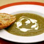 Cauliflower Leaves Soup.