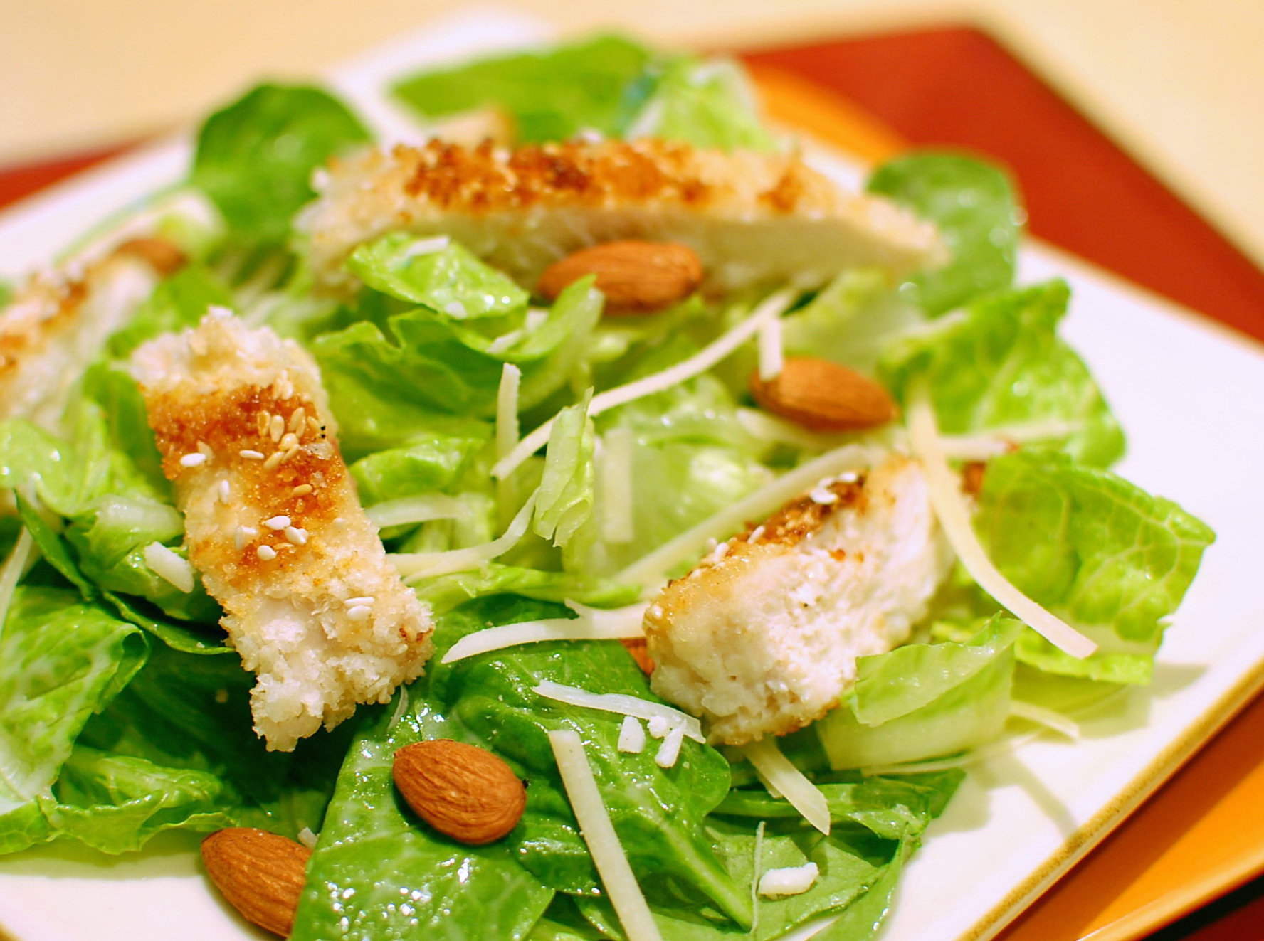 Fresh Caesar Salad caesar salad — recipes hubs