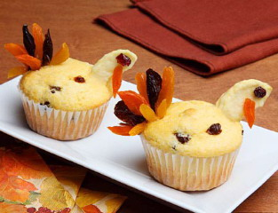 Corn Muffin Turkeys