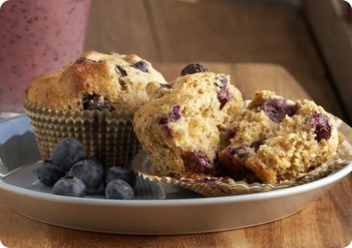 Get-healthy Blueberry Bran Muffins