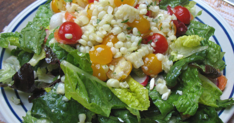 Fresh Corn & Cherry Tomato Salad
