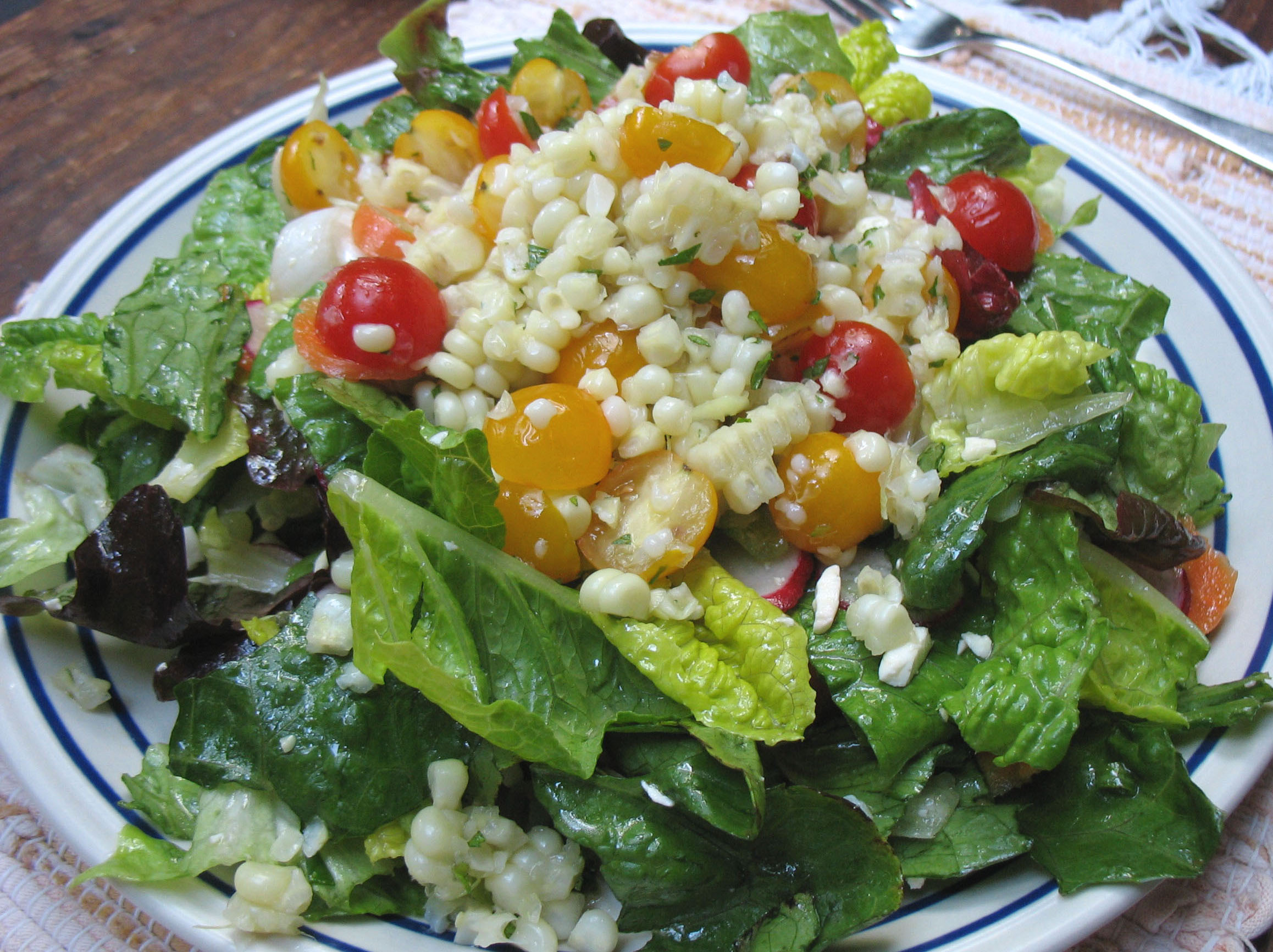 Fresh Corn & Cherry Tomato Salad