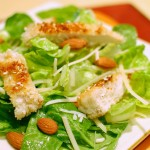 Sesame Chicken Caesar Salad