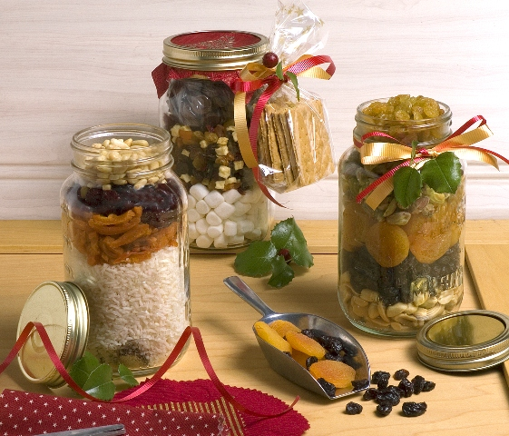 Holiday Gifts in a Jar