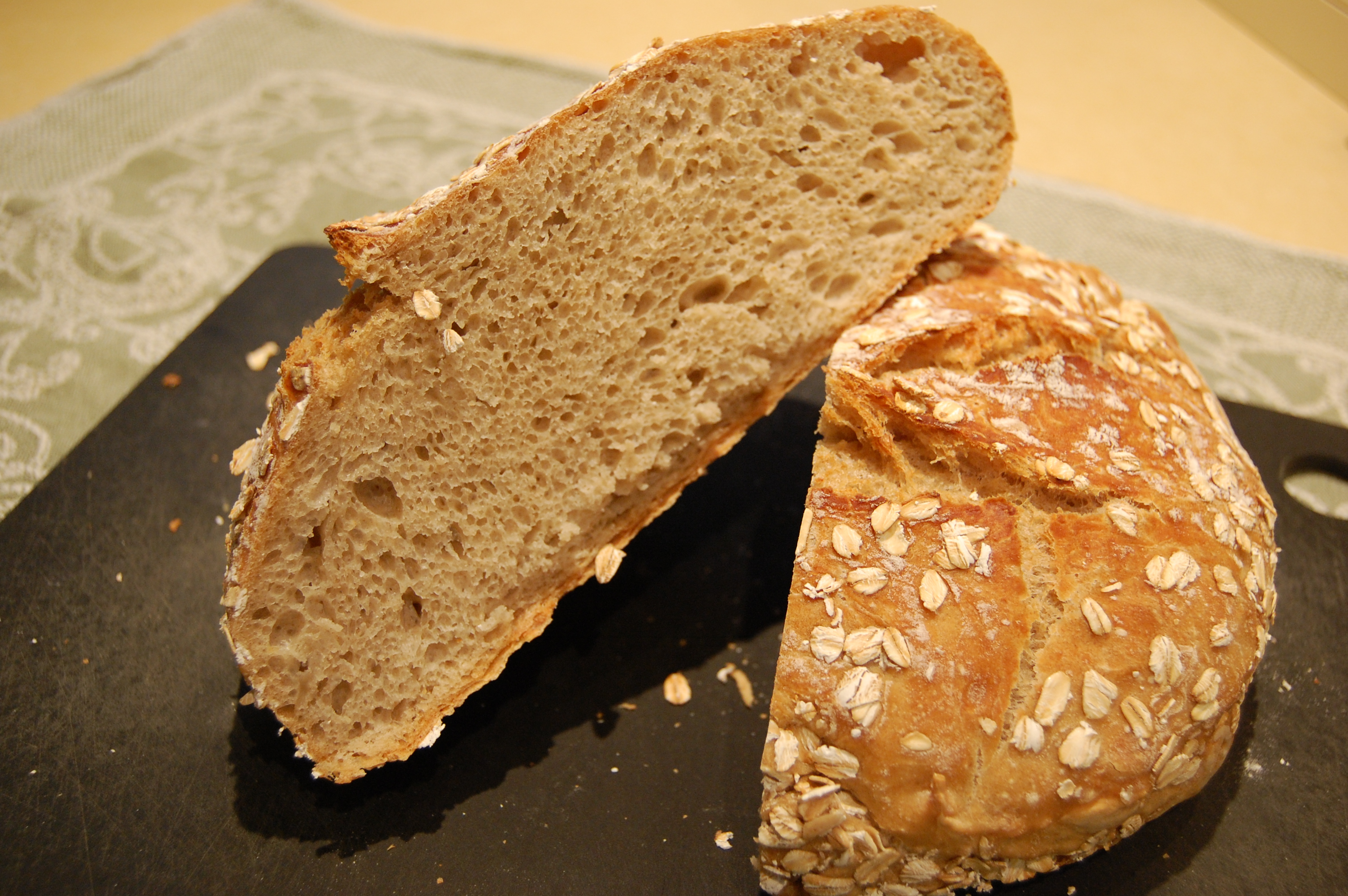 Easiest Ever No-Knead Artisan Bread