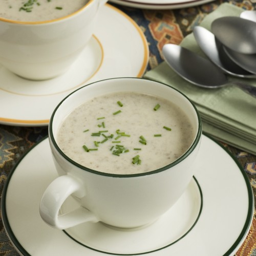 Sherry Mushroom Soup