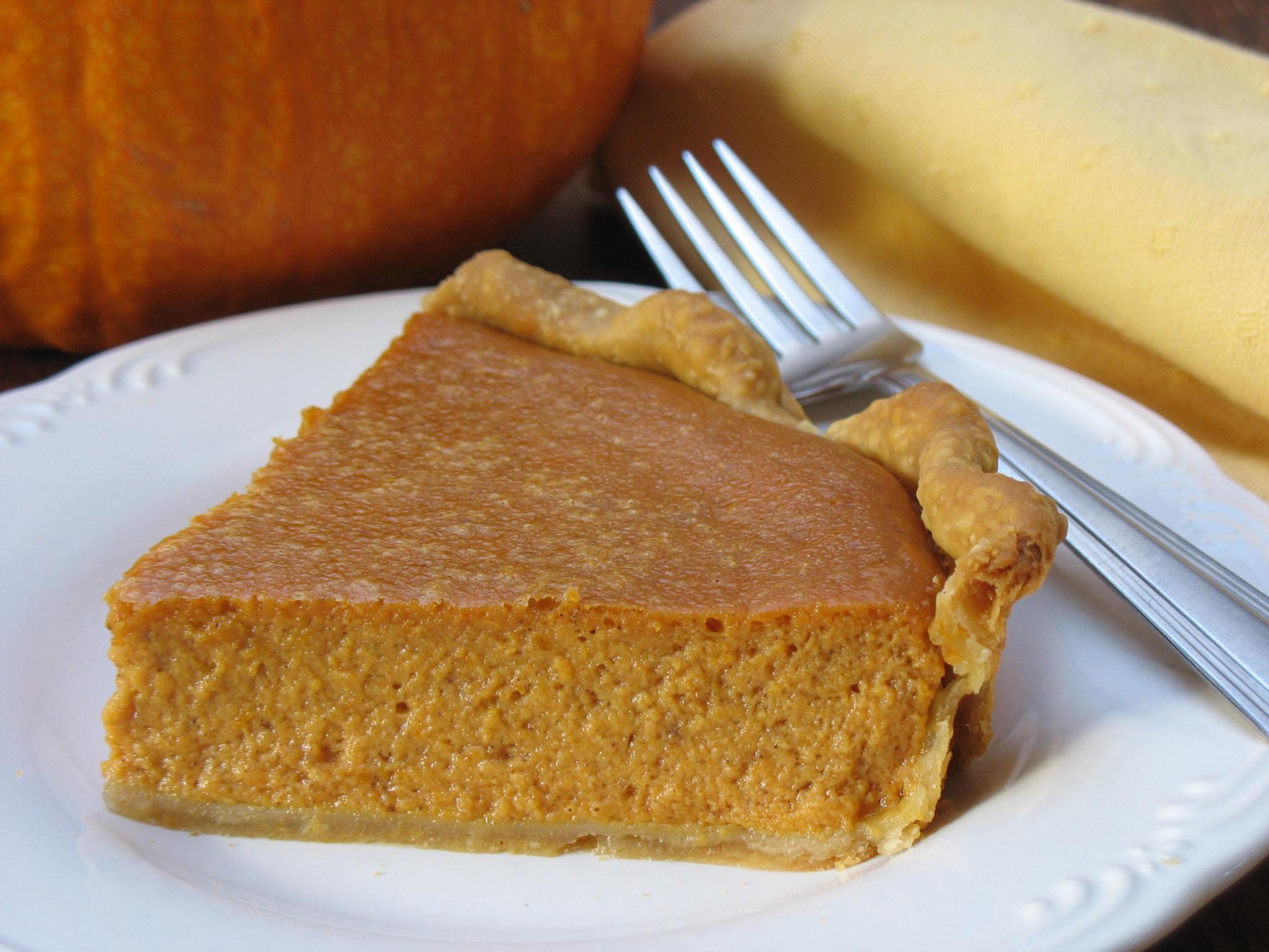 Pumpkin pie gets a flavor boost