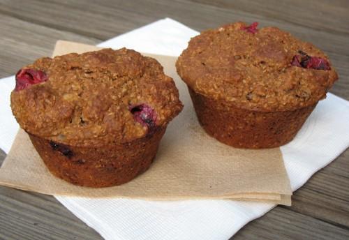 Cranberry Nut Bran Muffins