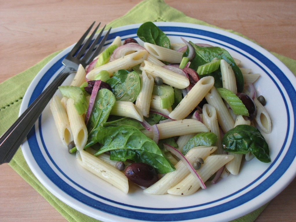 Pasta Salad with Capers