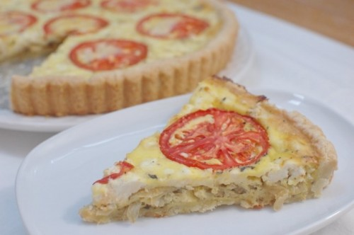 Caramelized Onion & Goat Cheese Tart