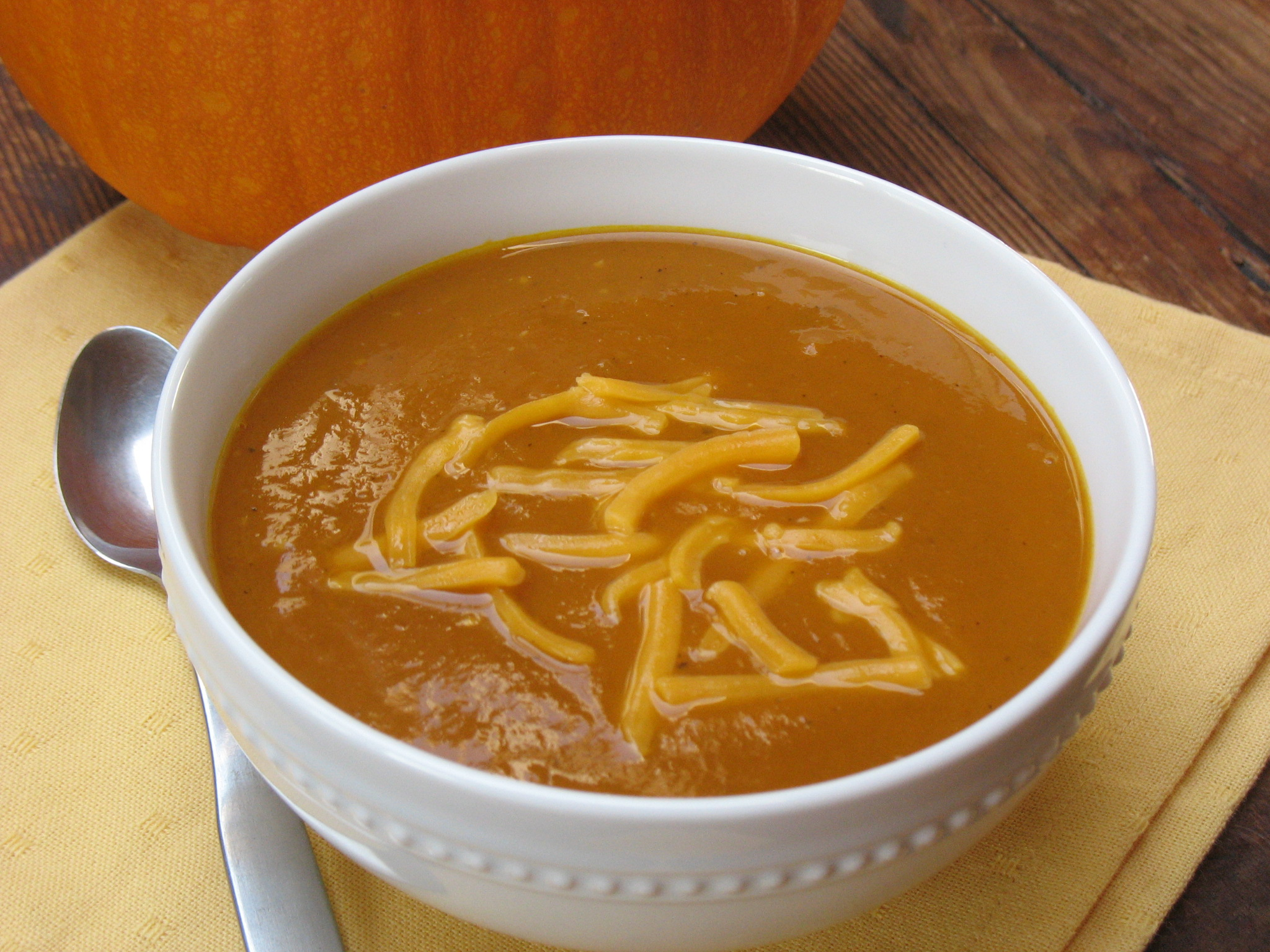 Pumpkin Soup — Simple & Savory