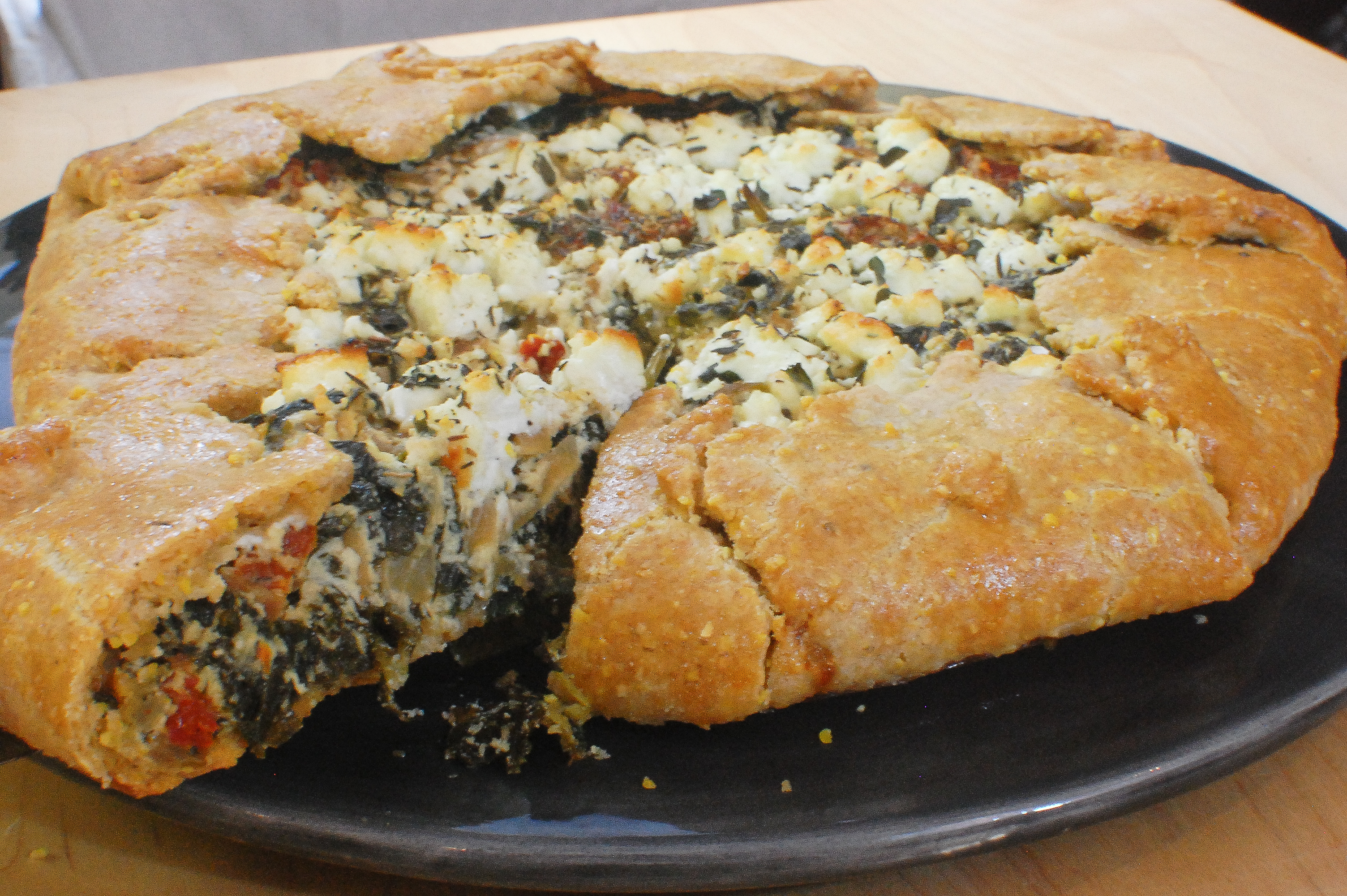 Chard & Ricotta Galette Made Easy