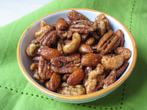 Glazed Nuts--Sweet-Salty-Bitter
