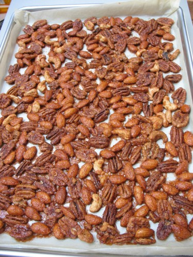 glazed roasted nuts