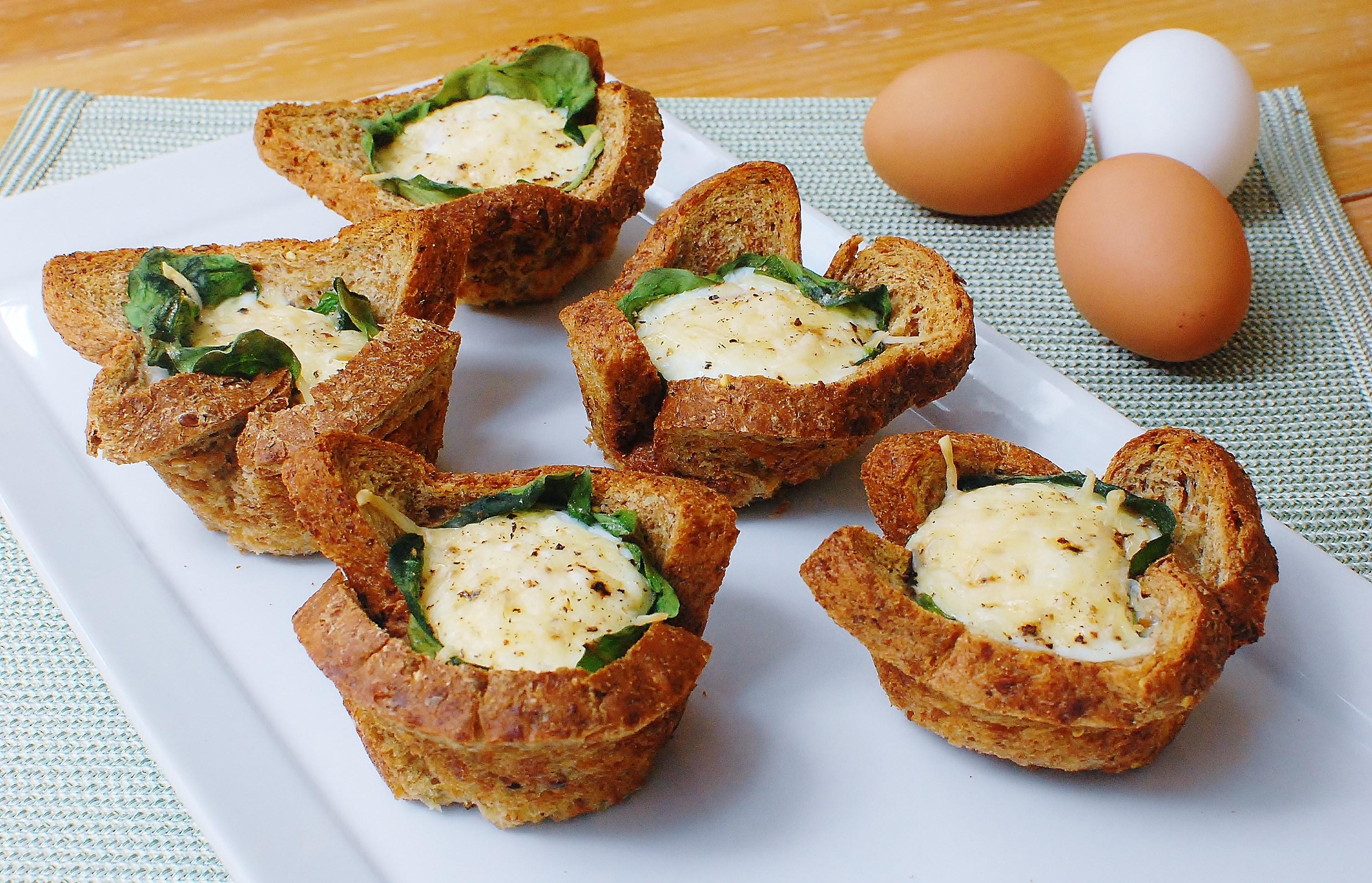 Florentine Toast 'n Egg Cups
