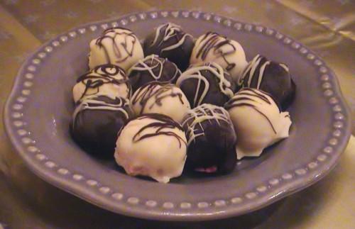 Rosie's peppermint truffles