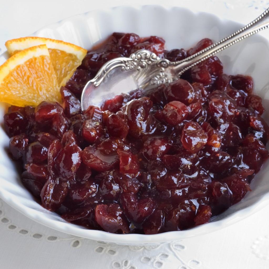 Cranberry-Apricot Relish