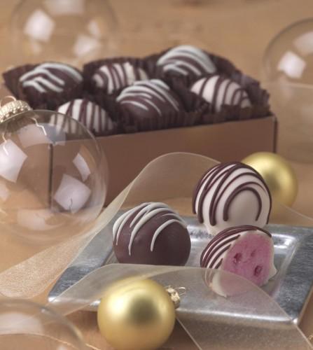 Peppermint Ice Cream Truffles