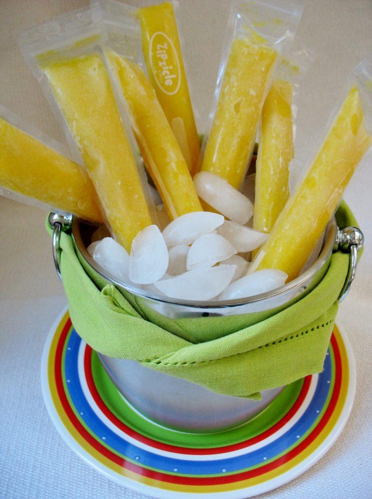 Mango Tango Ice Pops