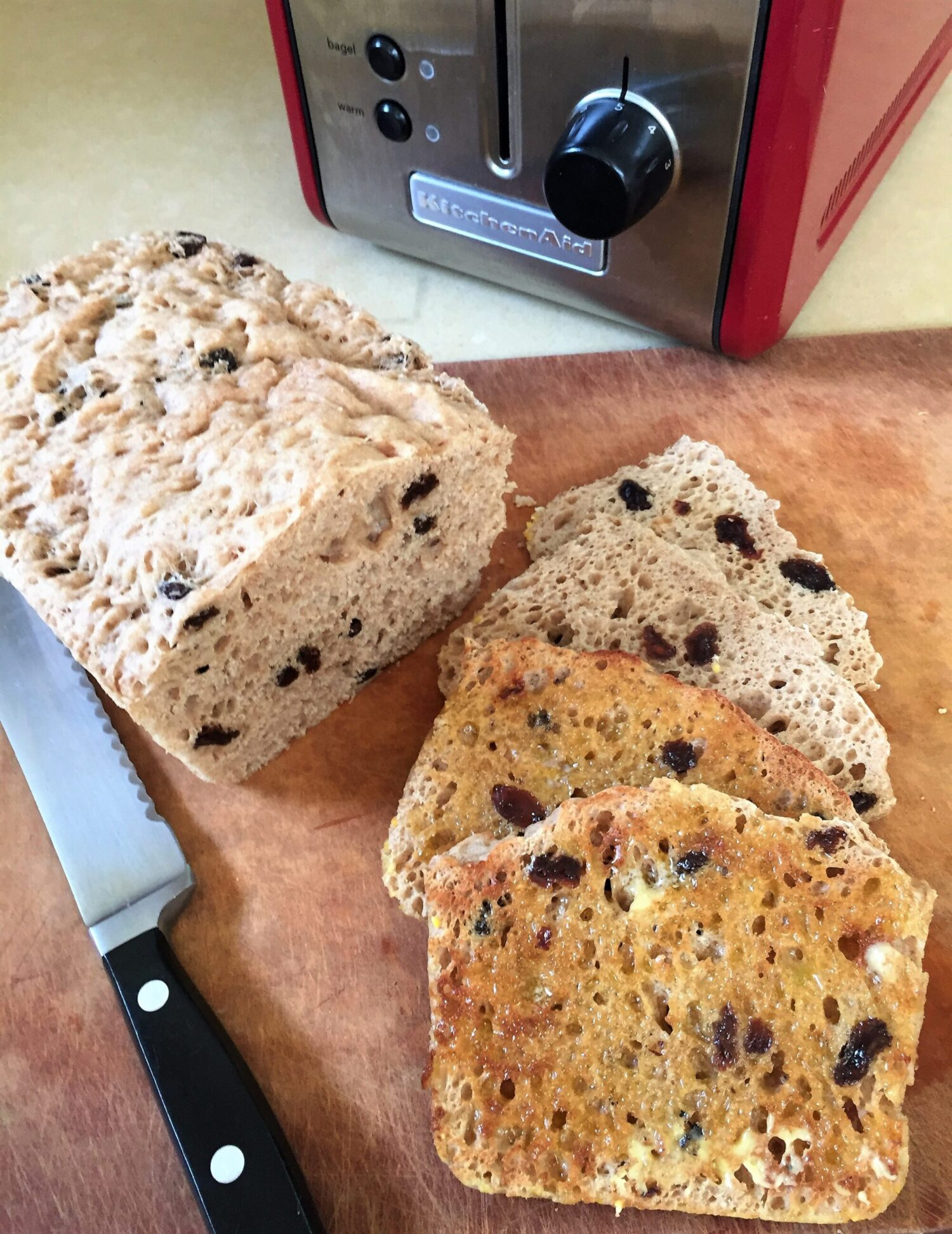 English Muffin Bread – perfect for Summer