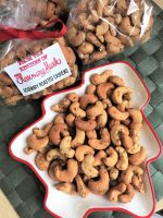 Rosemary Roasted Cashews Christmas tray
