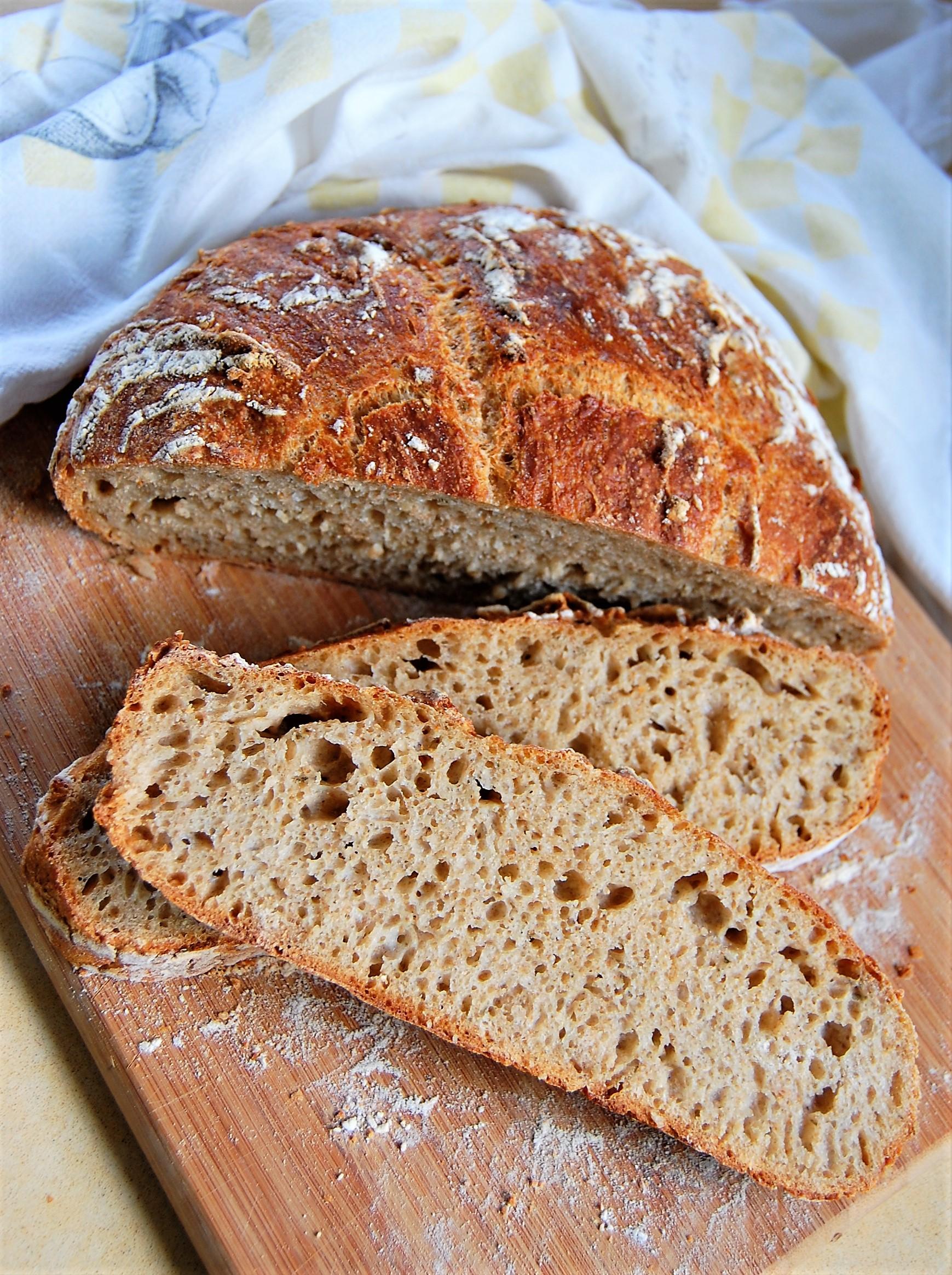 Speedy No-Knead Artisan Bread