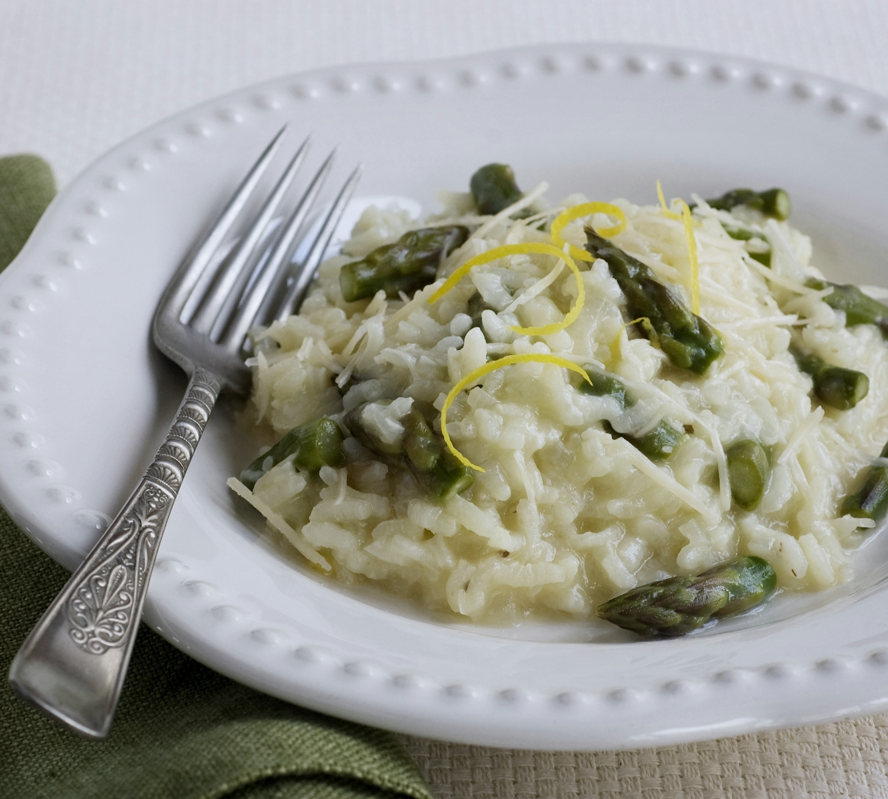 Asparagus Risotto – An Easier Way