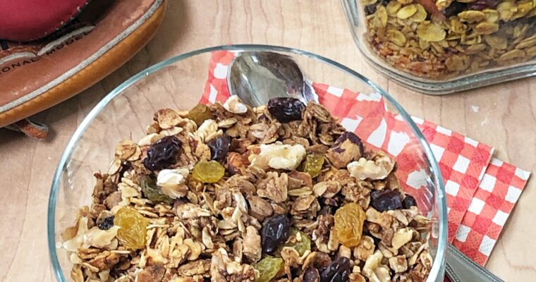 Triple Play No-Stir Granola