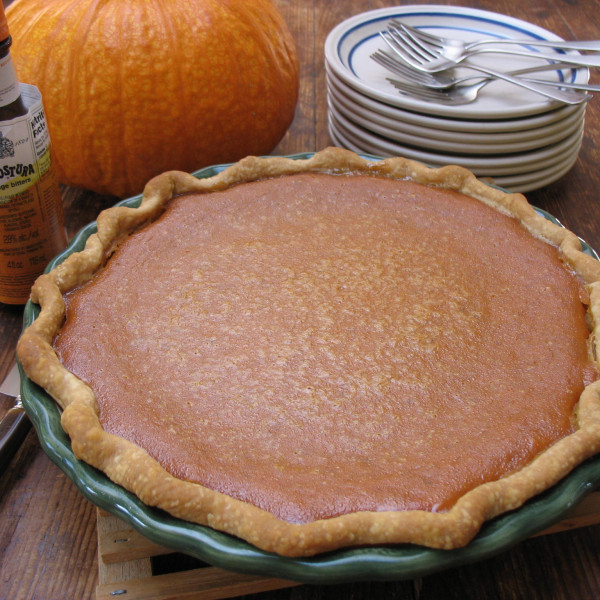 Pumpkin Pie with Bitters