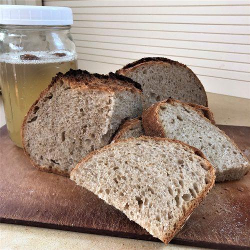 Yeast Water Artisan Bread